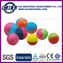 Promotional anti PU stress color change basketball