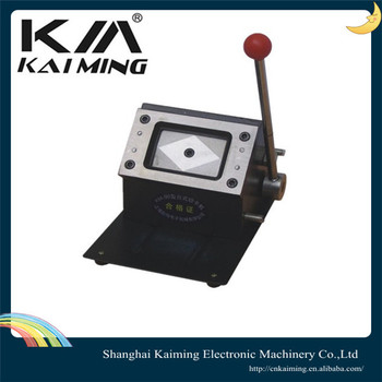 die cut business card machine