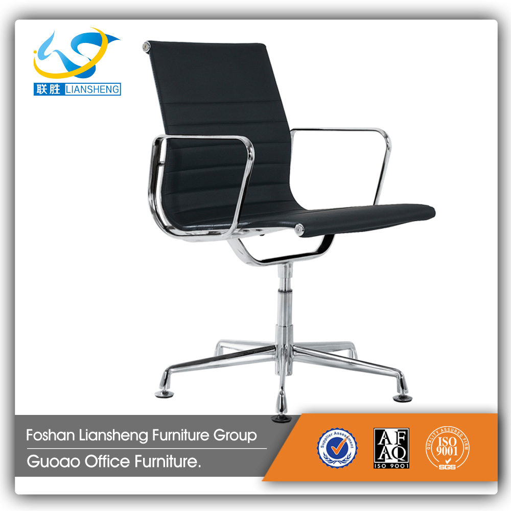 no wheels swivel Office Chair with pu leather C048C