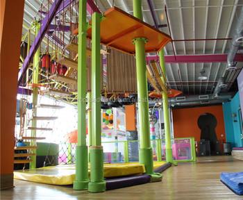 Klettergerüst Innen : Indoor spielplatz ausrüstung klettergerüst hochseilgarten