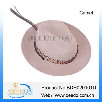 060ee190256 Camel Crushable Wool Felt Mexican Men Stetson Cowboy Hats - Buy ...