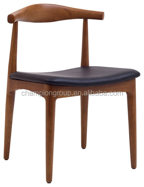 Elbow Wood Chair, Wenger Design Wood Dining Chair MX 6258