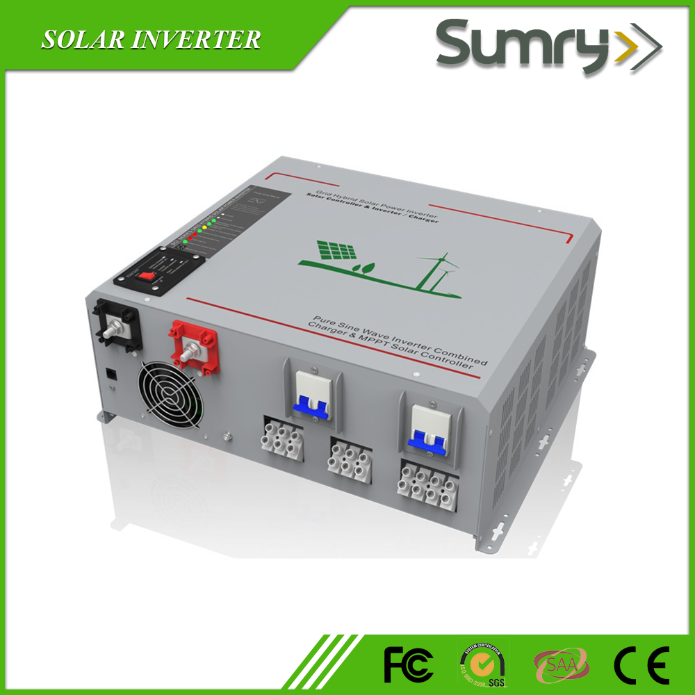 500w to 6000w 12v 24v 48v 240v Pure Sine Wave solar panel inverter price
