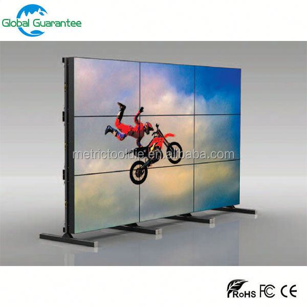 "46"" 4x4 tv lcd video wall with frameless lcd wall monitor"