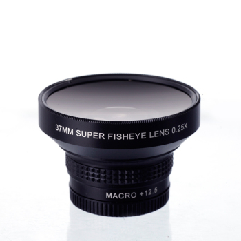 37mm 0.42x fisheye lens with macro