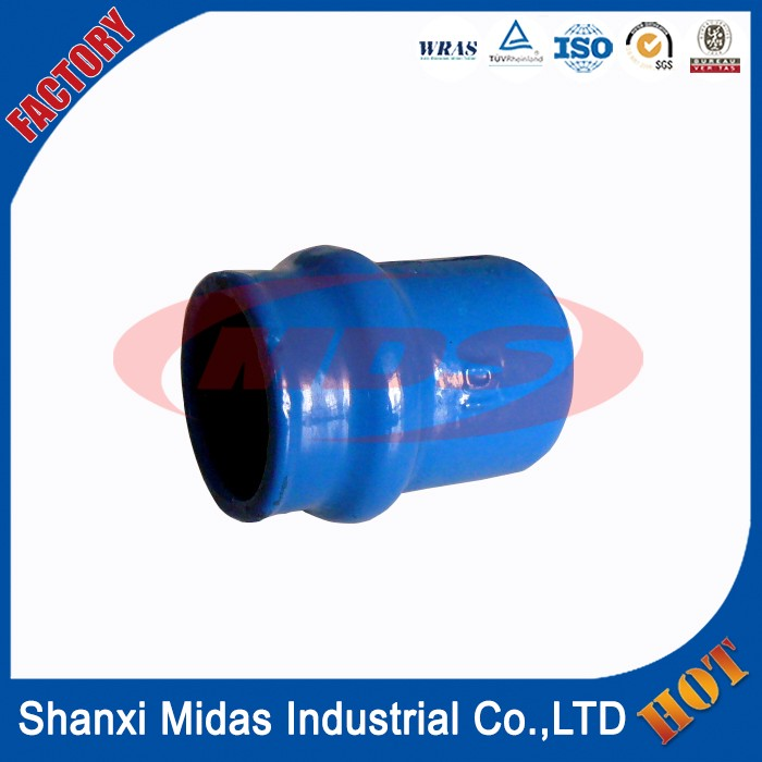 Iso Standard Ductile Cast Iron Di End Cap For Pvc Pipe