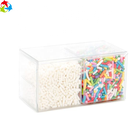 Hot Sale Disposable Plastic Supermarket Crystal Clear Candy Box