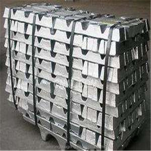 China manufacturers supply high quality pure 99.995 zinc ingot