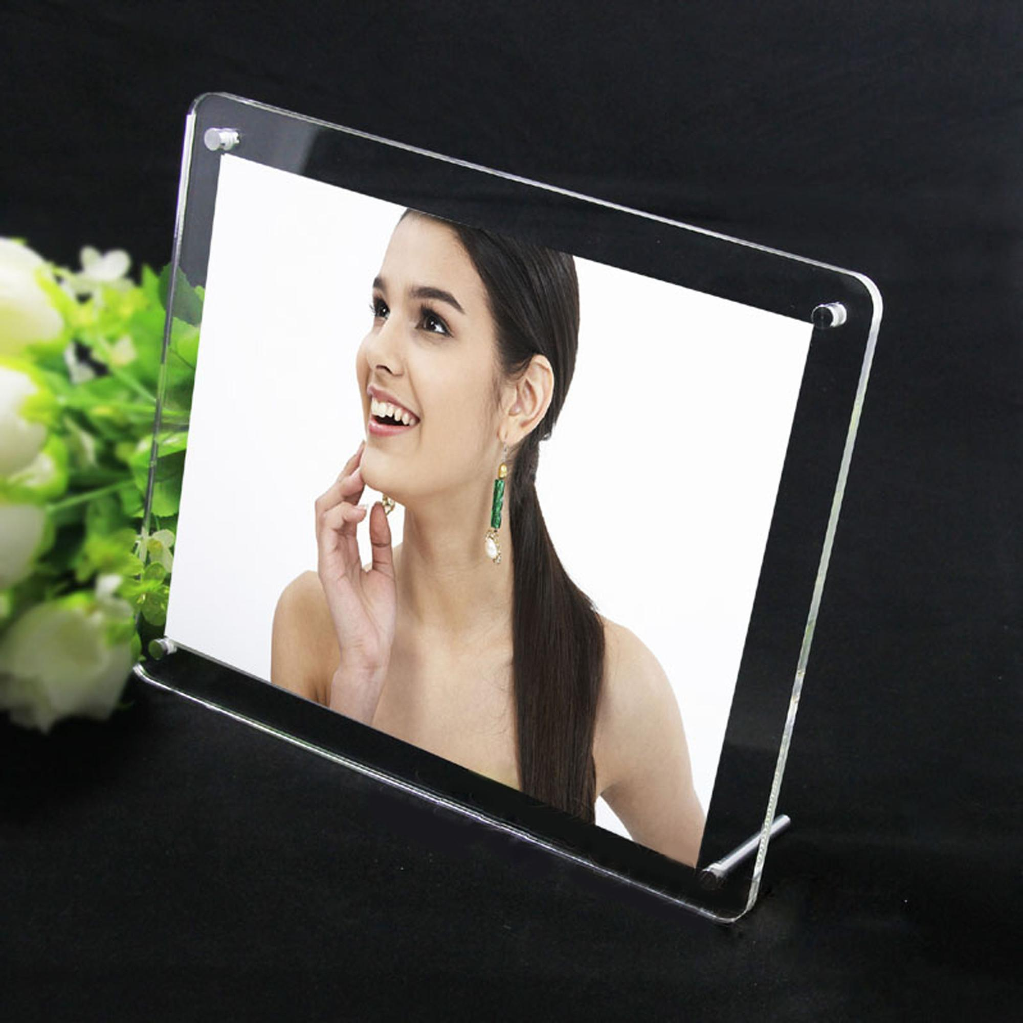 sixy photo/picture clear acrylic frame