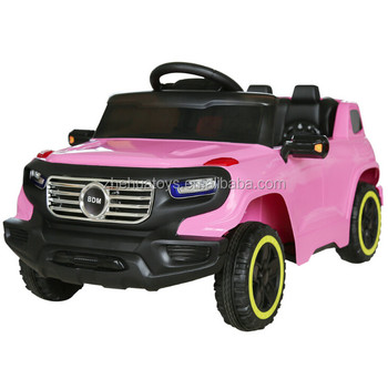 12v Pink Kids Electric Ride On Cars Toy Car