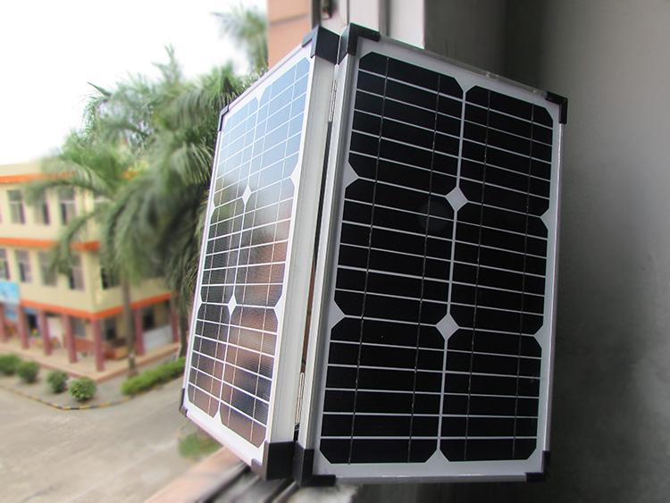 28w/18vのための折り畳み式のソーラーパネル充電ライト仕入れ・メーカー・工場
