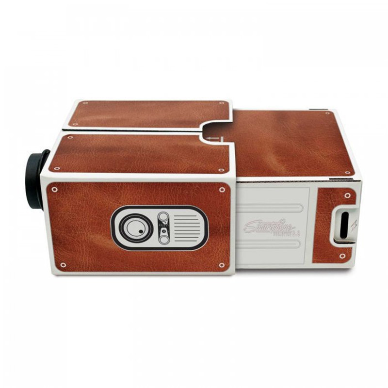 wholesale DIY Mobile Phone <strong>Projector</strong> Portable Cinema Mini Cardboard Smartphone <strong>Projector</strong> 2.0