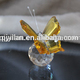 elegant gift crystal butterfly craft crystal butterfly ornaments