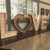 outdoor fashion design wedding led love marquee letter