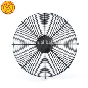 Modern design metal wire mesh spiral guard for fan
