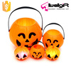 LED Hallowmas Pumpkin barrels christmas candy bucket Halloween children candy bucket