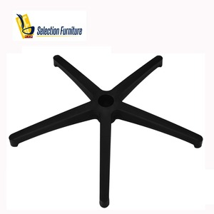 5-Star swivel computer chair parts nylon chair base