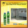 Anti Rust Tire Window Construction door Usage Acetic Silicone Sealant