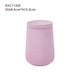 2016 hot sale pink cement mini candle holder luxury glass skull jars for home decoration