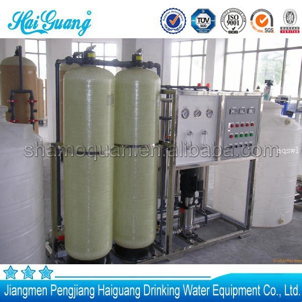 CE and ISO9001 water purifier r o system