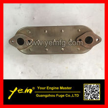 4M40 oil cooler core 4P diesel engine parts