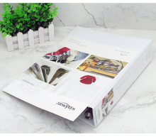 new products a4 hard cover file folder with 3 ring binder parts