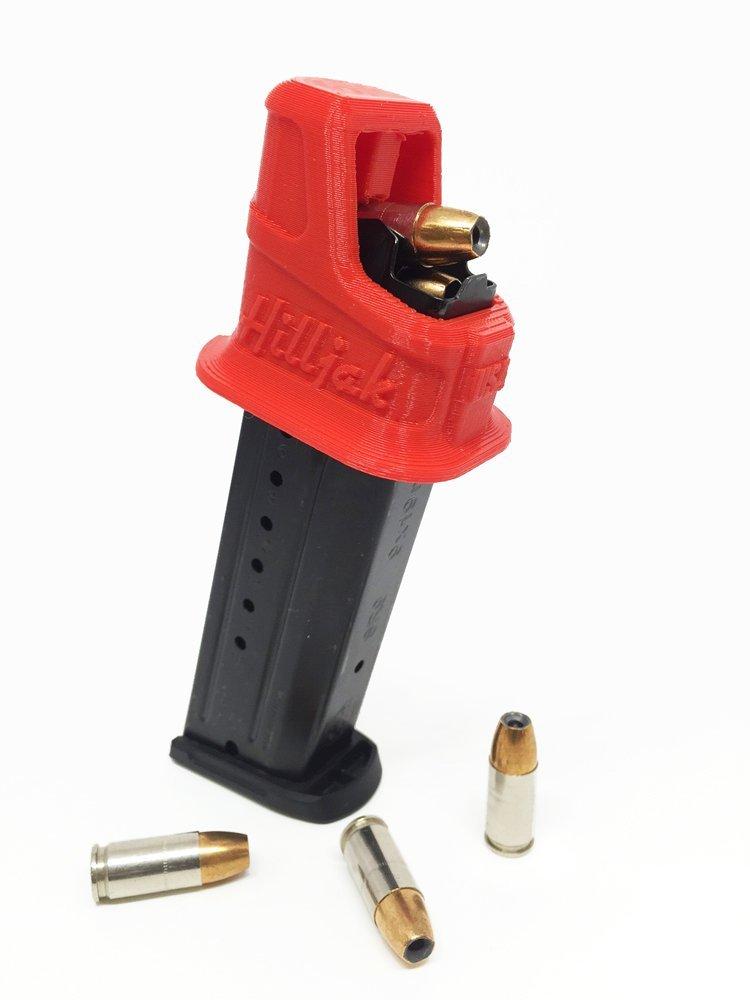 Thumb saver Ruger SR9 SR9C SR9E 9mm Speed loader Magazine Loader Black
