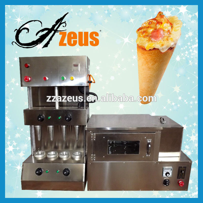 stainless steel pizza cone machine for fast food restaurant