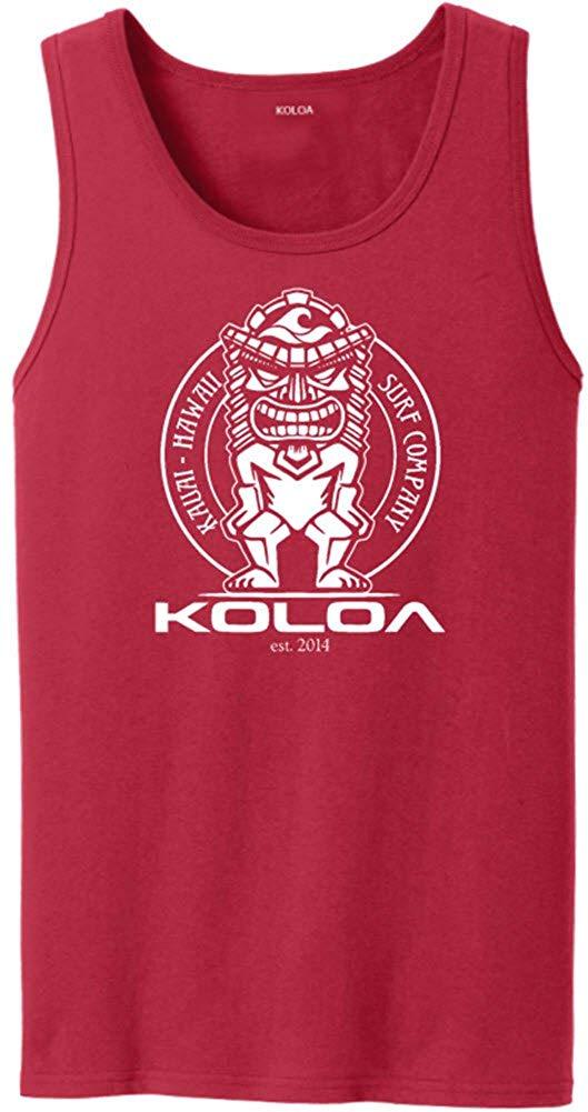 61cda3b289174 Get Quotations · Koloa Surf Custom Graphic Tank Tops in Sizes S-4XL