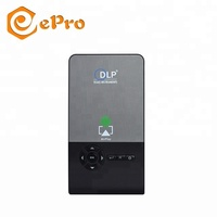 C2 Mini Projector DLP 1G/8G Android 6.0 RK3128 5G Wifi Portable Home Theater projector C2