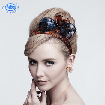 2019 Custom Logo Hair Bands Plastic Headband Hair Accessories Women ... 968e9ccf258