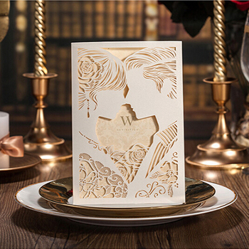 Hollow out wedding cards personalized invitation cards2d wedding hollow out wedding cards personalized invitation cards2d wedding invitation cards stopboris Gallery