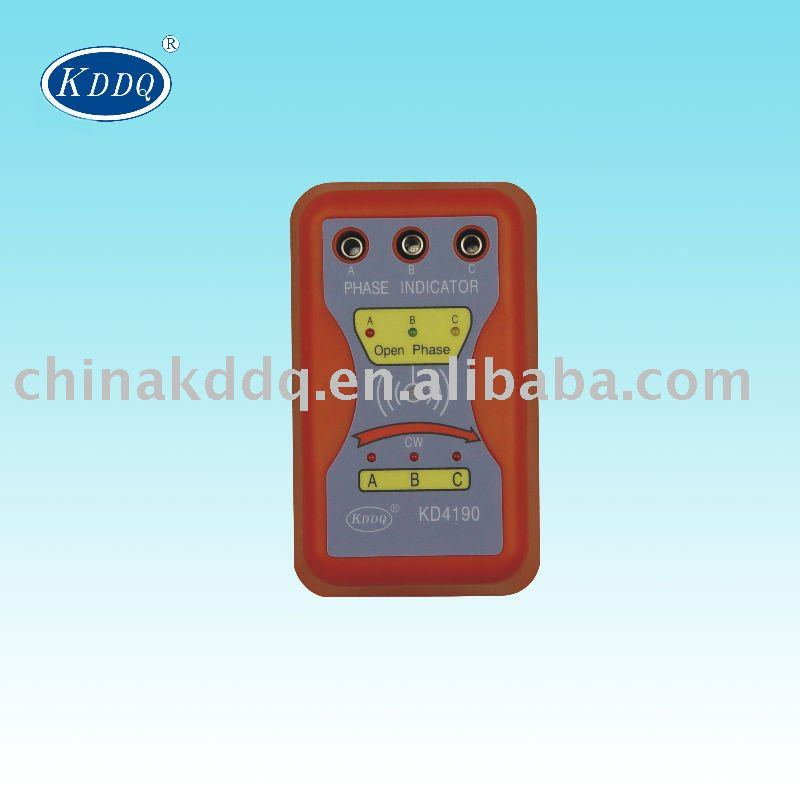 KD4190 Digital three phase sequence indicator
