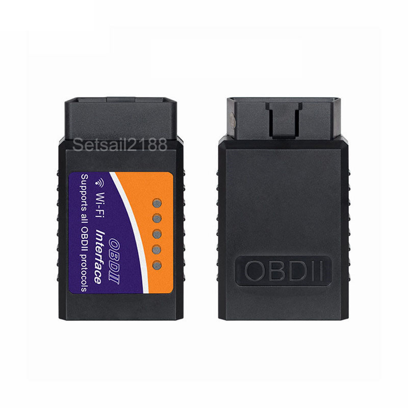 Mini OBD OBD2 Elm327 elm 327 V1.5 WIFI Scanner OBDII Scanner Auto Diagnostic Tool voor iPhone Android iPad