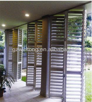 aluminium bi vouw rooster schuifdeuren louvre buy. Black Bedroom Furniture Sets. Home Design Ideas