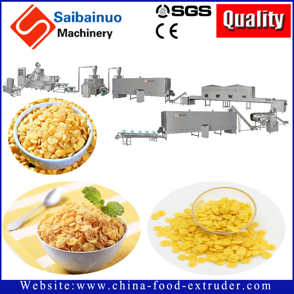 Saibainuo Choco Crispy Corn Flakes Making Machine with great price