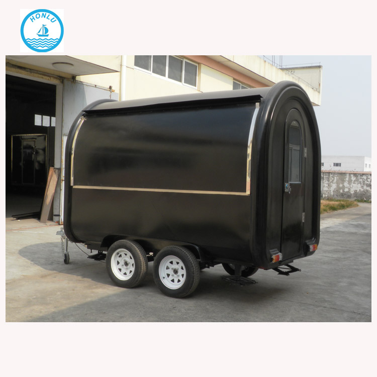 Galvanized enclosed hot dog cart tuk tuk bangkok /food truck trailer with double axles/whatsapp: 86-18638125597