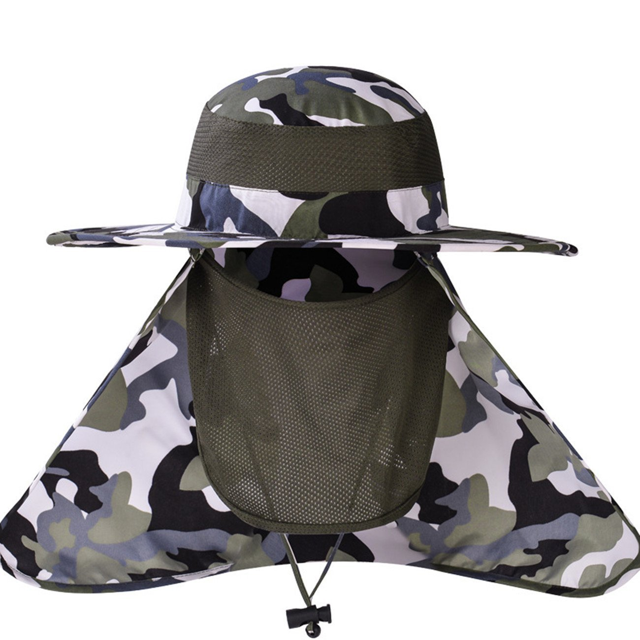 c70e8487 Get Quotations · Unisex Sun Hats UV Protection , Summer Hiking Safari Hat  Wide Brim Sun Visor Hat UPF