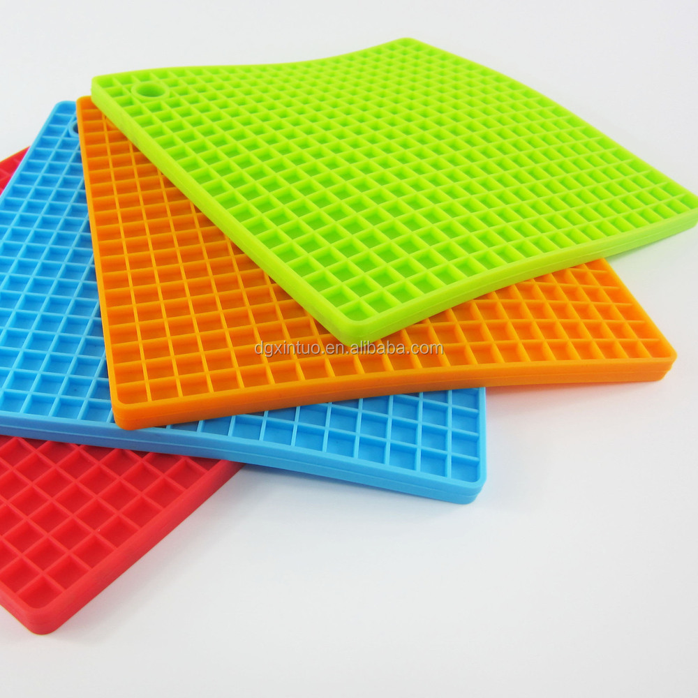 Hot Sales Silicone Heat Resistant Table Mats For Kitchen Pan