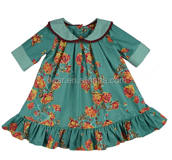 Persnickety Clothing Vintage Remake Baby Boutique Frock