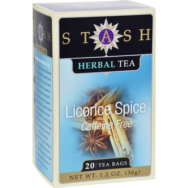 Stash Tea - Licorice Spice - 6 Units / 20 bag