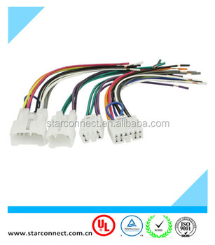 Auto toyota car audio iso connector wire_350x350 auto toyota car audio iso connector wire harness with 6 pin 10 pin toyota wire harness connectors at gsmx.co