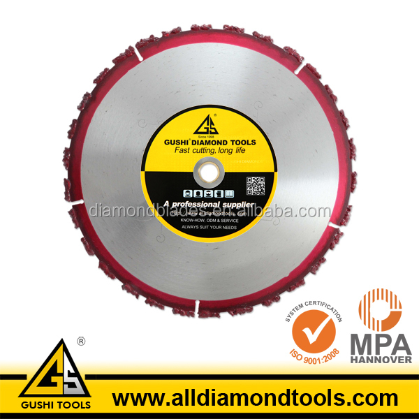 Carbide Chunk Vacuum Brazed Saw Blade for Rescue Cutting