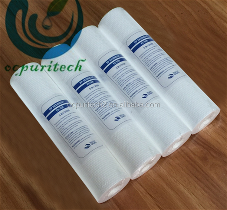 Pp Sediment Filter Cartridge For Water Waste Treatment Plant