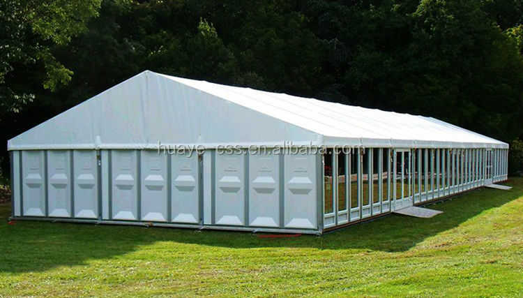 Hot sale good quality outdoor party tent with glass wall Cheap wall tents for sale