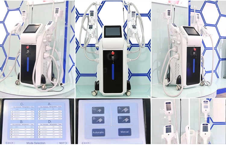 Super product standing cool slimming cellulite reduction cool tech fat freezing slimming criolipolisis machine