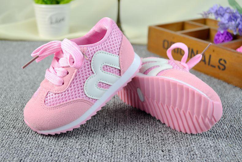 979456f2a Весенние детская обувь девочка дышащие кроссовки обуви / мальчиков и  девочек сетка не вонючие ноги мягкие Chaussure / дети хардангер кроссовки