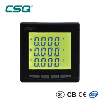 PD652E-9SY Multifunction Three Phase LCD Power Factor Meter
