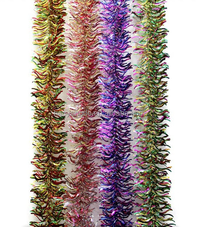Hot Sale Christmas Tinsel Party Festival Wedding Decorations Ornaments