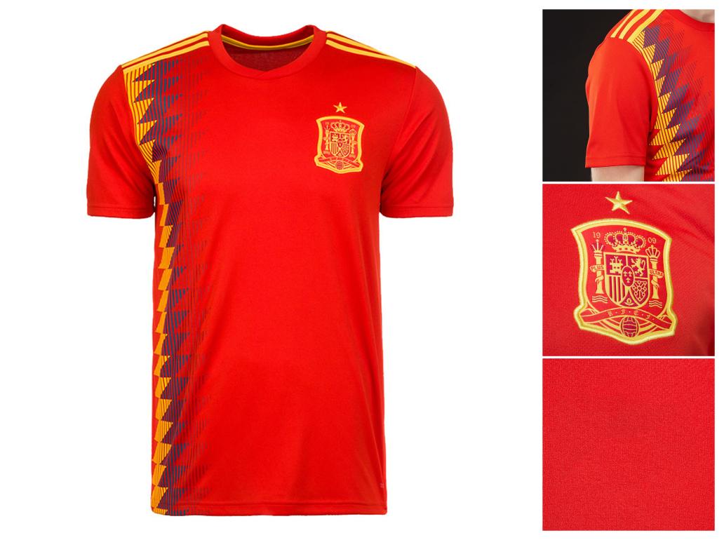 the latest e0e5f ccfee Spain Team Custom Printing Logo Football Jersey Breathable Running Quick  Dry Fit Men Football Shirt - Buy Spain Team Football Jersey,Custom Football  ...